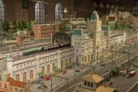原鉄道模型博物館の鉄道模型ジオラマ
